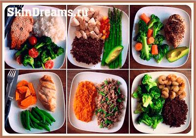 правильное питание и диета от прыщей