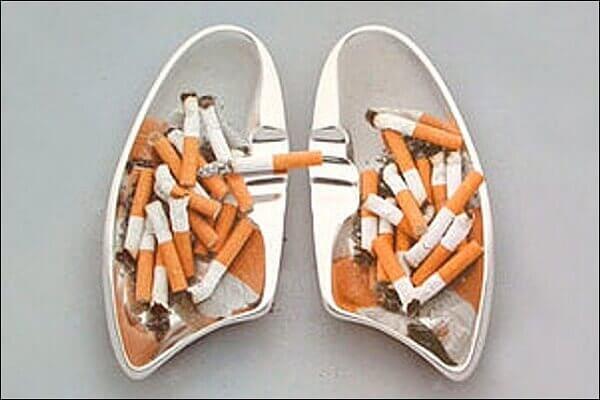 прыщи на лице после курения